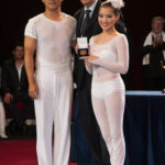 SPECIAL AWARD MEDALS OF THE PRESIDENT OF REPUBLIC - CHINA NATIONAL ACROBATIC TROUPE - CINA - BALLET ON SHOULDER