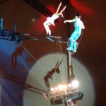 ANHUI ACROBATIC TROUPE - CHINA - FLYING TRAPEZE