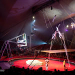 PYONGYANG CIRCUS -NORTH KOREA - FLYING TRAPEZE