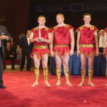 2 SILVER PRIZE - FOUR MEN GROUP - BELARUS - ACROBATICS