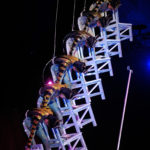 SHAANXI ACROBATIC TROUPE - CHINA - BALANCING WITH CHAIRS