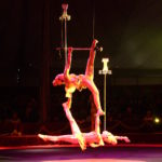 HANGZHOU ACROBATIC TROUPE - CHINA - BALANCING WITH GLASSES